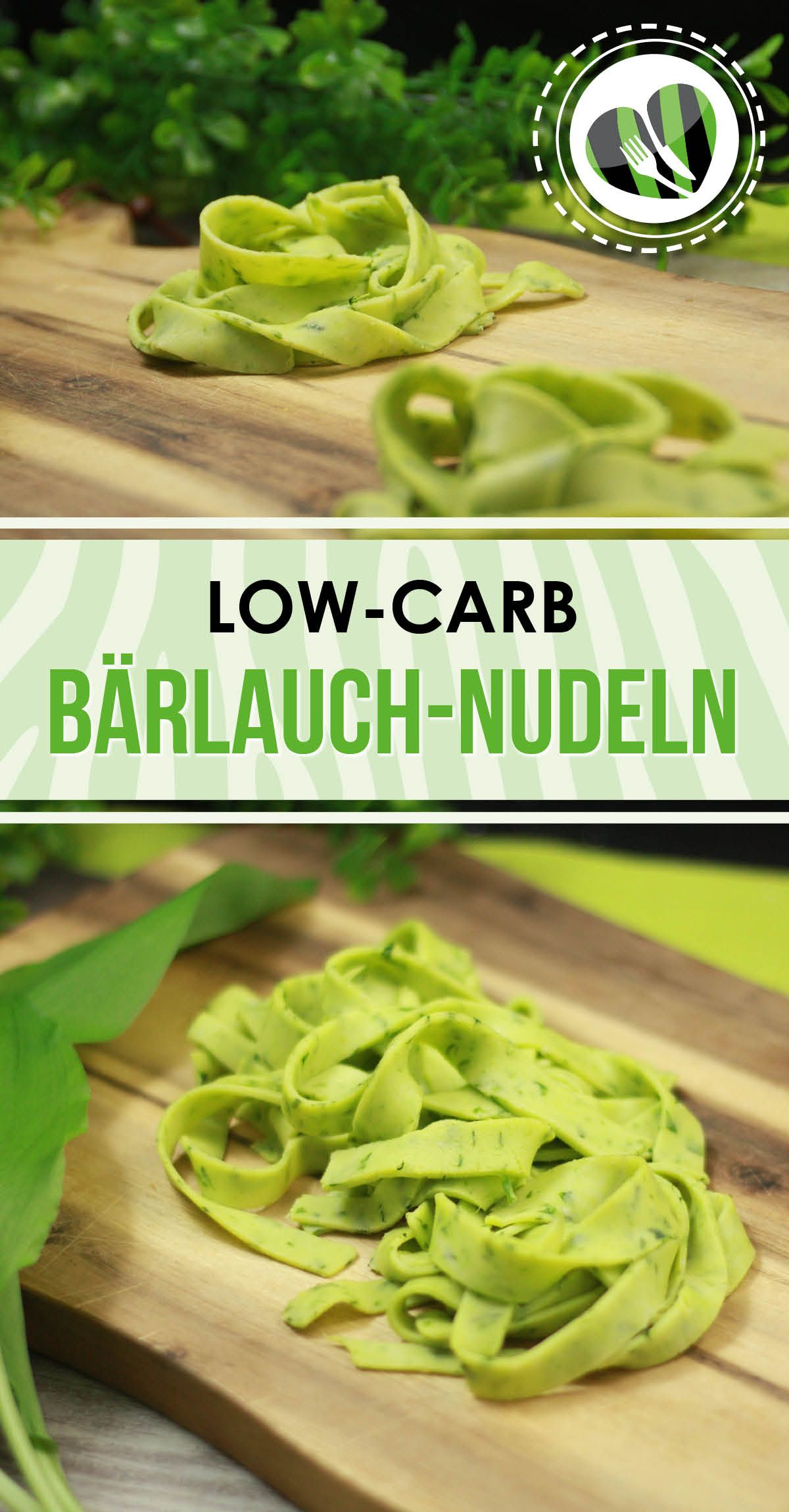 Photo of Low-carb wild garlic noodles
