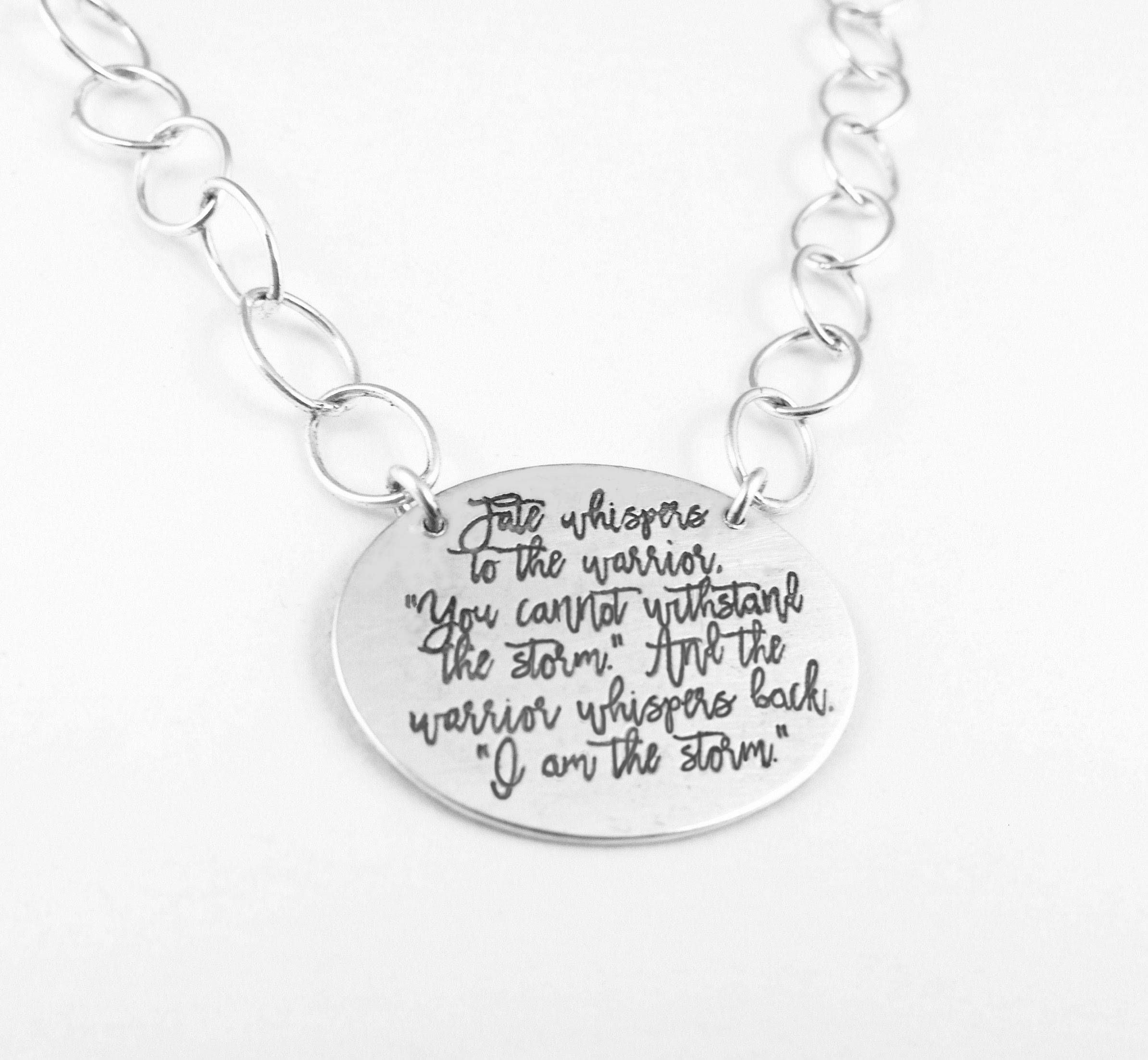 10 Word Charms Quote Charms Find Joy in The Journey Silver Inspirational Pendant