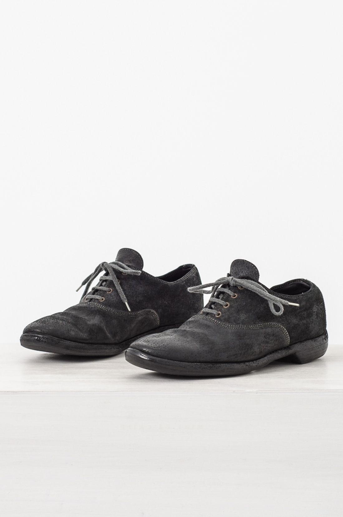 cd3f432eb2f46 Guidi 110 Reverse Kangaroo Leather Derby Size 9  378 - Grailed ...