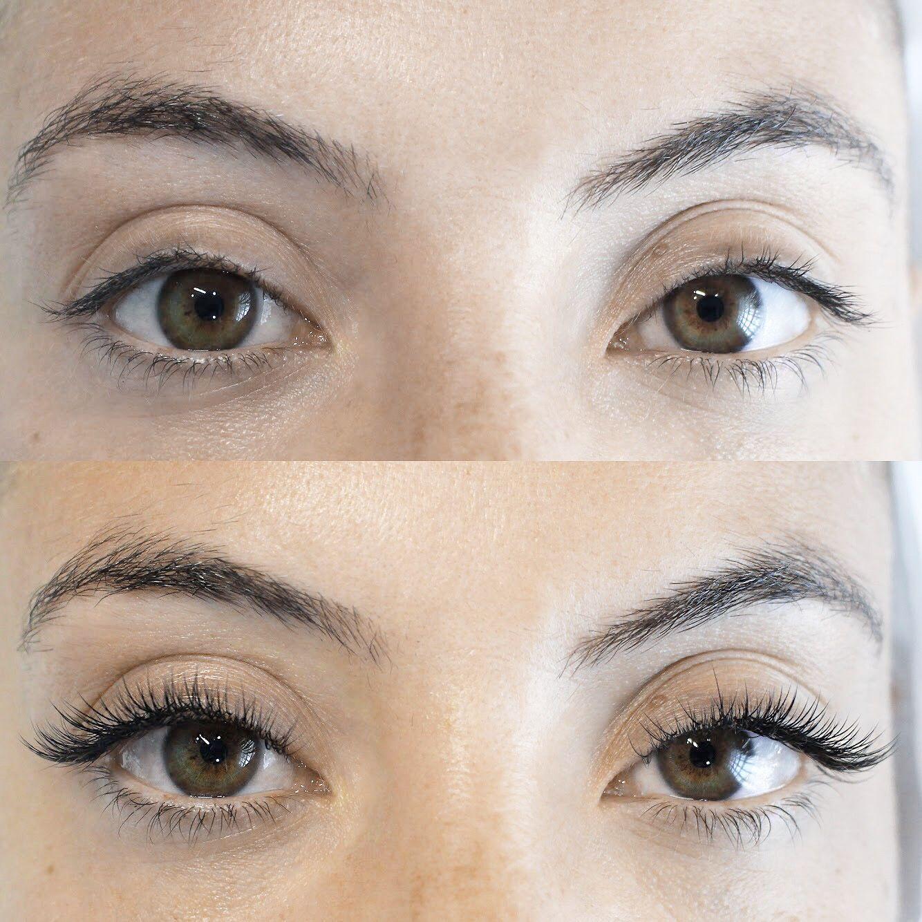 54f0b1b92bc Plush Mixed Volume Eyelash Extensions in B curls using SugarlashPro Silk  Lashes. The Beauty Corner