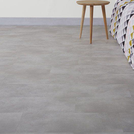 Dalle PVC clipsable gris industry clear Senso lock GERFLOR Déco - quel revetement de sol exterieur choisir