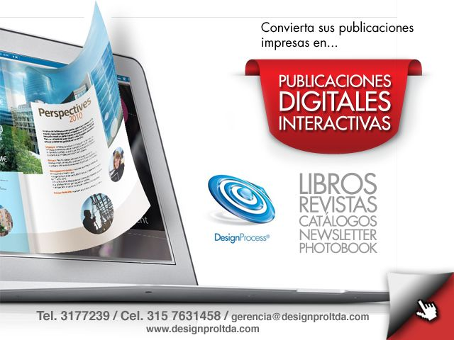 PUBLICACIONES DIGITALES INTERACTIVAS