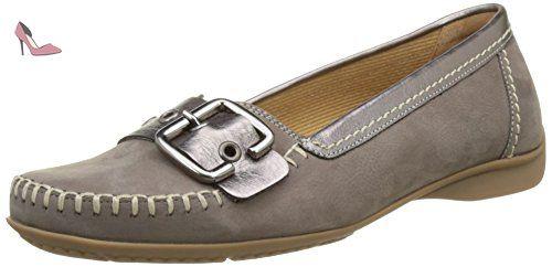 Gabor Shoes Comfort, Sandales Bout Ouvert Femme, Marron (Fumo 31), 40 EU