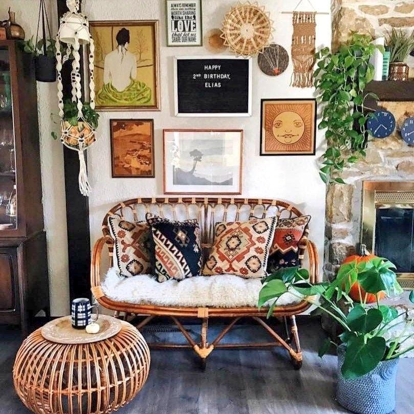El Estilo Boho Es Valiente Rebelde Libre No Entiende Normas Ni Regla Estr Bohemian Living Room Decor Bohemian Style Living Room Modern Bohemian Living Room