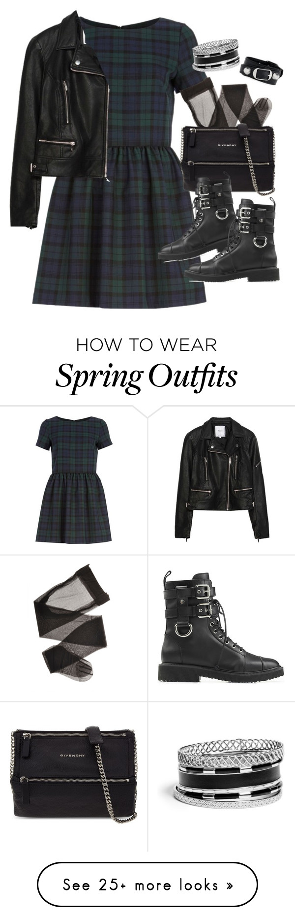 """""""Requested outfit"""" by ferned on Polyvore featuring River Island, Zara, Givenchy, Giuseppe Zanotti, GUESS and Balenciaga"""
