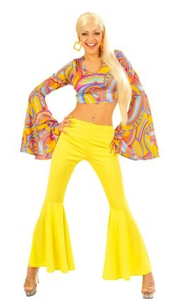 Déguisement Funky Lady - Années 70 (Disco)   Déguisement en A en ... ecb1e4066da8