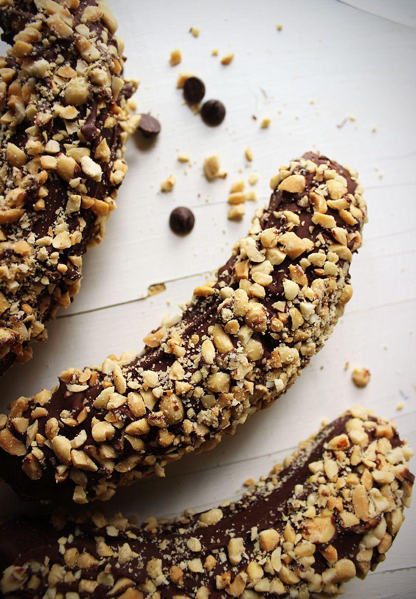 Frozen Bananas Recipe Recipes To Try Chocolate