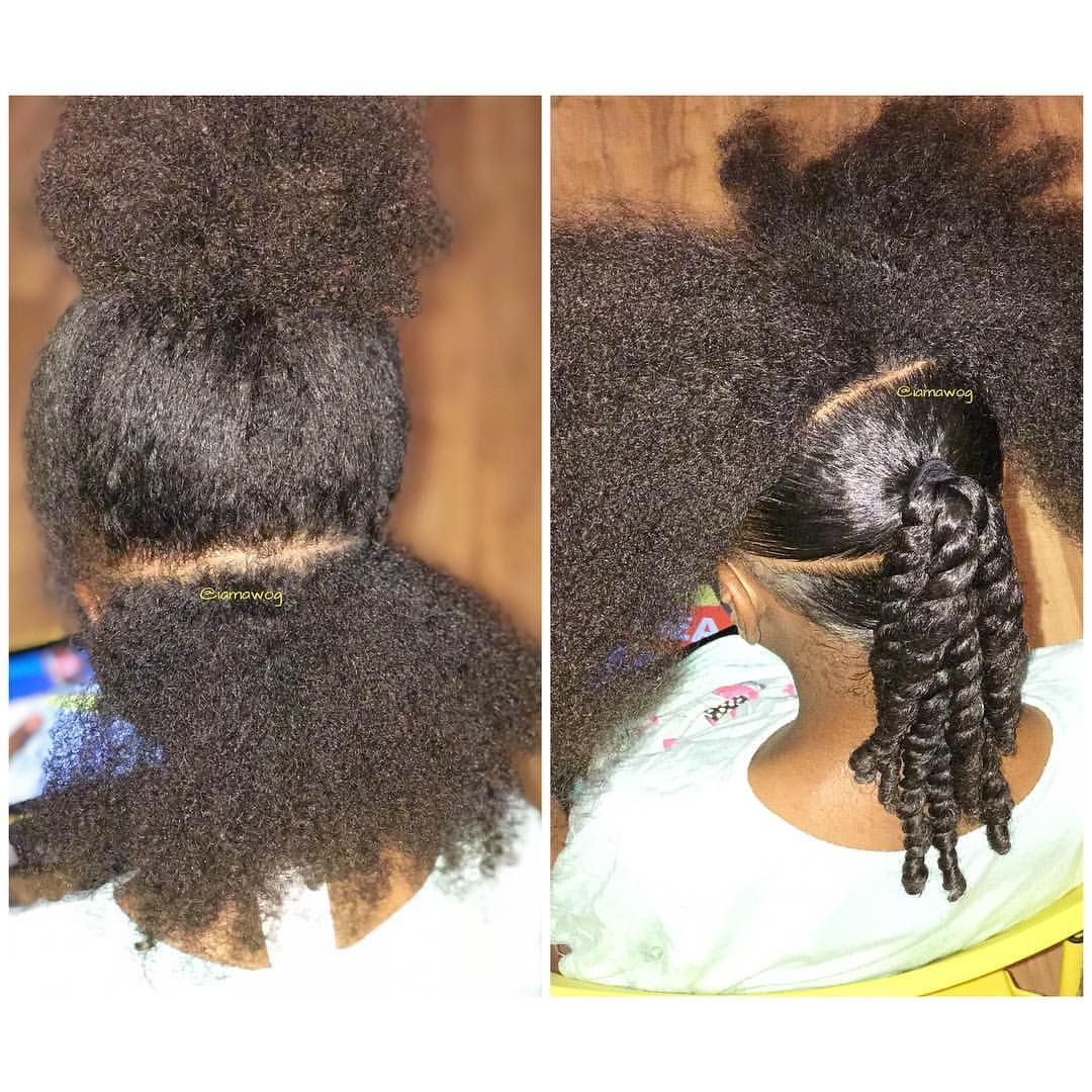 Before & After #NIGHTprep Detangling video will be available THIS week