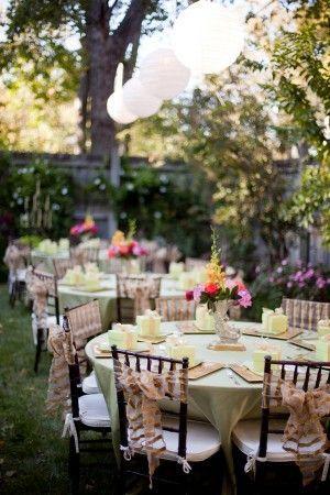 Classic Nashville Backyard Wedding From Jen Chris Creed Garden