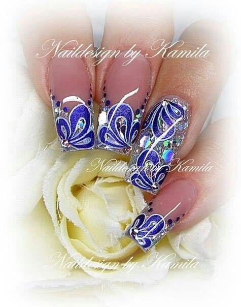 By Kamila   I ♥ NAILS   Pinterest
