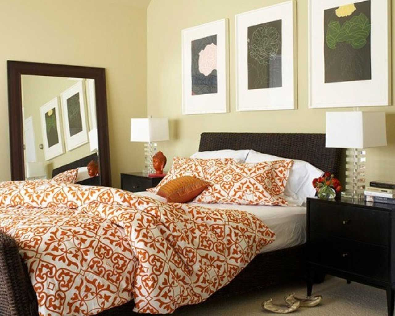 cozy bedroom decorating ideas. Cool 31 Cozy And Inspiring Bedroom Decorating Ideas In Fall Colors : With White Wall A