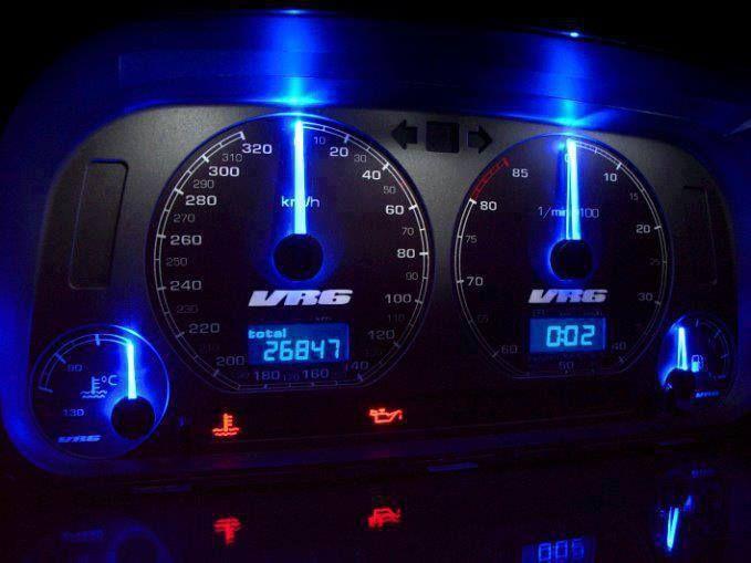 The custom dash of a Mk3 VR6 Jetta GLX  | Ideas for my car | Jetta