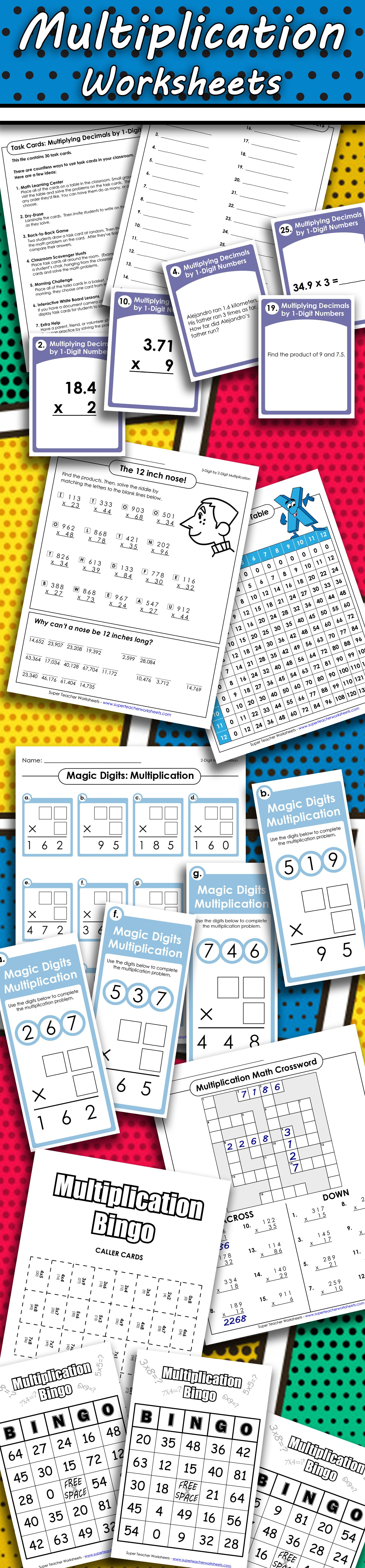 If you're looking for a plethora of multiplication