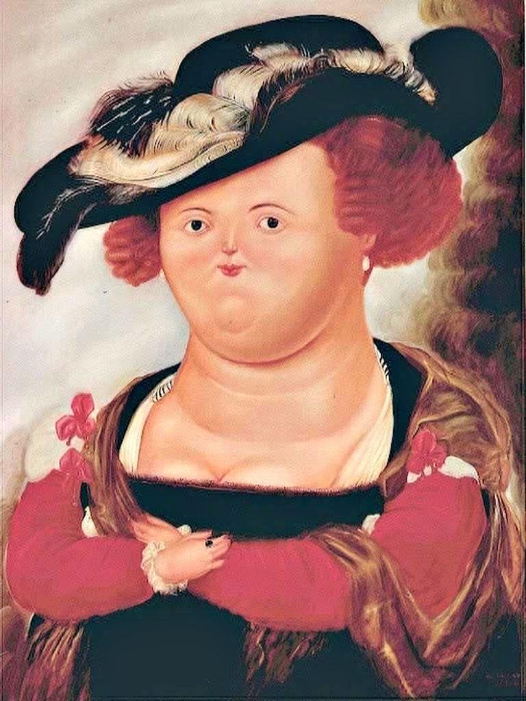Fernando Botero - Madame Rubens.   Art de la peinture ...