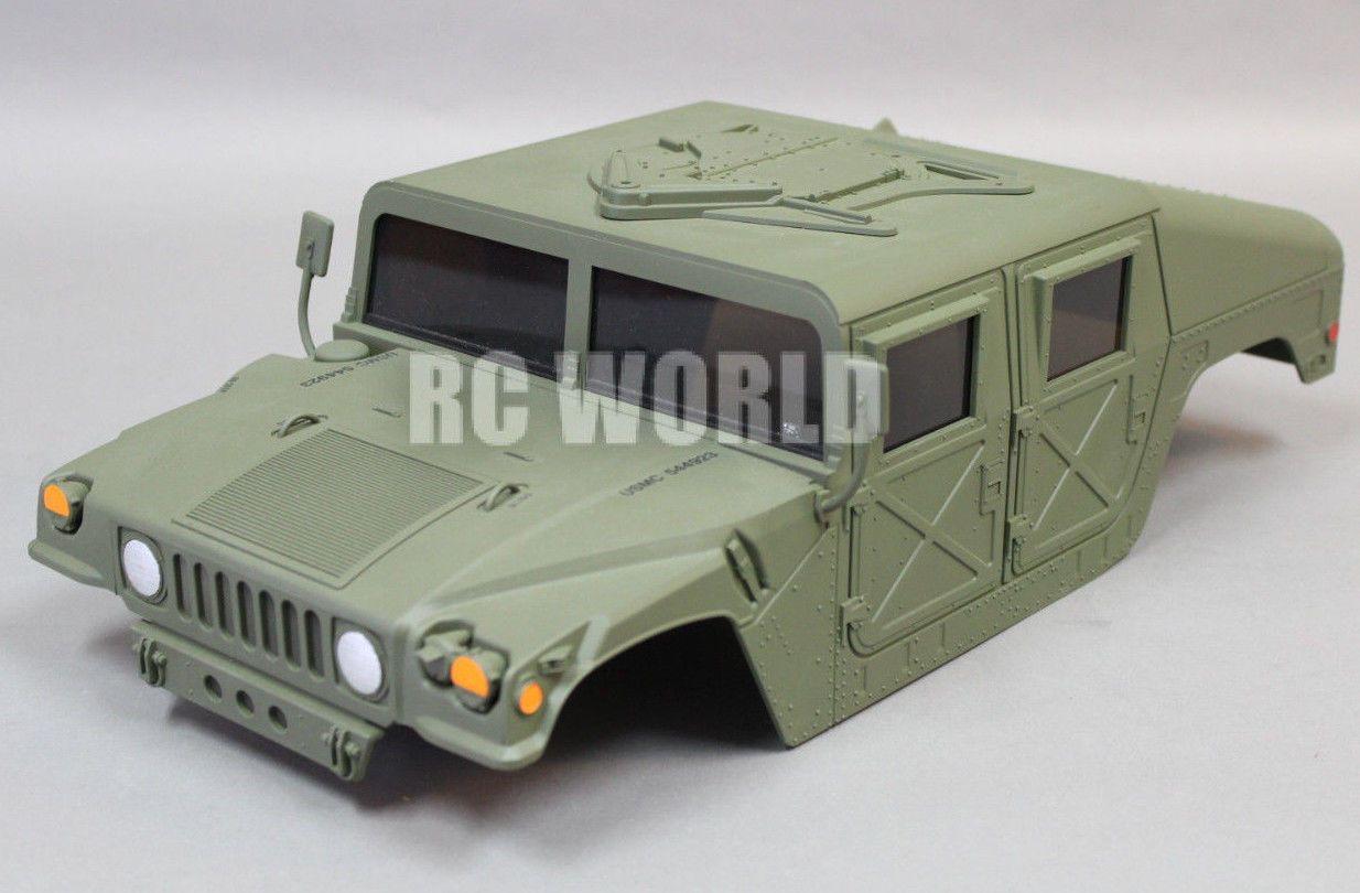 Tamiya 1 12 Rc Truck Hard Body Shell Hummer Humvee M1025 Finished New Tamiya Hummer Hard Body