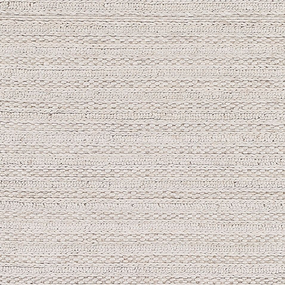 Surya Kindred 5' X 7'6 Handwoven Braided Area Rug In Light Grey - The Kindred Rug from Surya enlivens your home with timeless appeal. Handwoven in a luxurious blend of wool and viscose, this textured solid design features a soft, medium pile, complementing any decor with a chic, casual look.