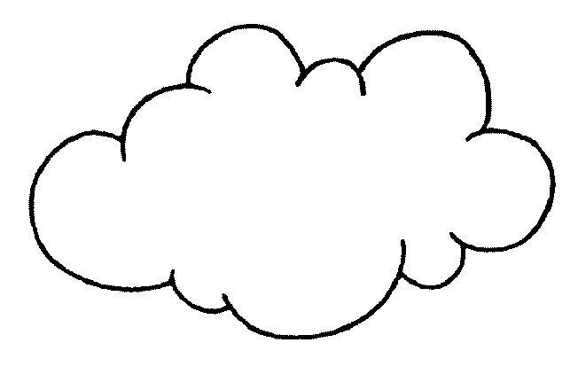 Nubes Para Colorear Con Imagenes Nubes Como Hacer Nubes