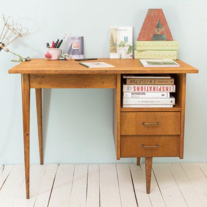 bureau vintage ann es 50 home pinterest bureau vintage bureaus and vintage. Black Bedroom Furniture Sets. Home Design Ideas