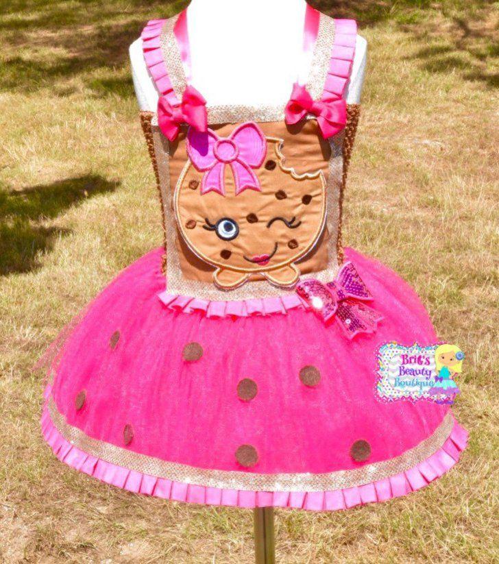 Shopkins Kooky Cookie Tutu Dress | Shopkins, Tutu dresses and ...