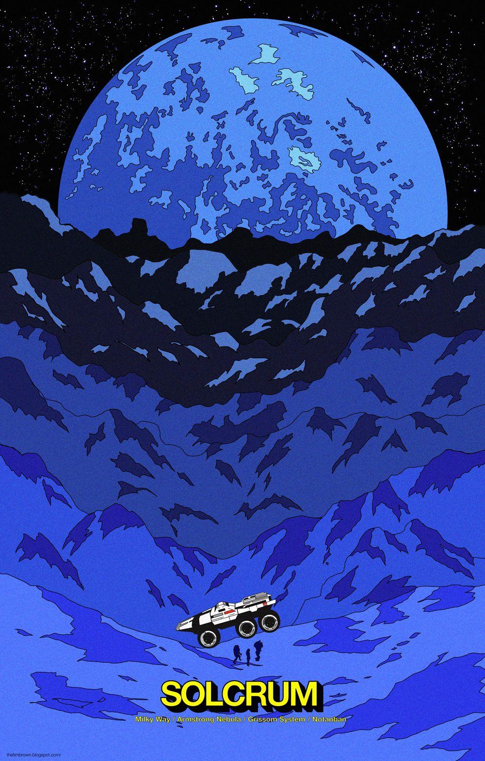 Tim Brown - Mass Effect Illustration
