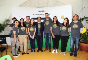 Pipedrive quer recrutar 100 pessoas em Portugal
