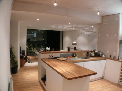 White Kitchen With Wooden Worktops image result for kitchen wooden worktop | kitchen | pinterest