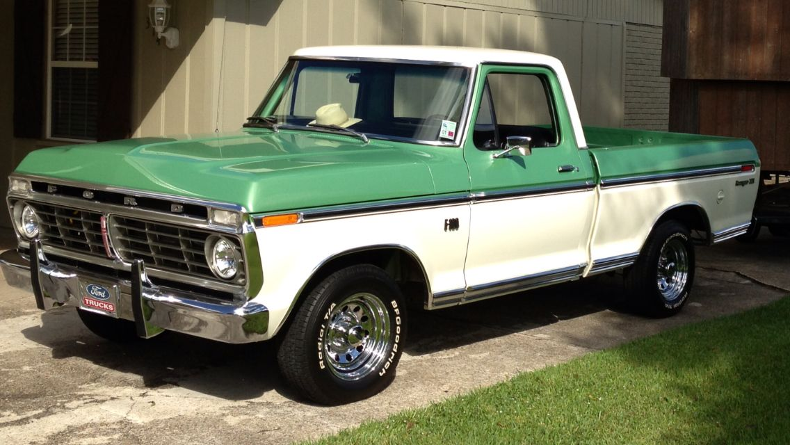 1973 Ford F 100 Maintenance Restoration Of Old Vintage Vehicles The Material For New Cogs Casters Classic Pickup Trucks Classic Ford Trucks Ford Pickup Trucks