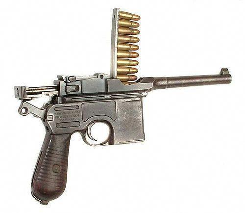 Mauser C96 Cal:9x19mm Parabellum #handgun,Glock17,deserteaglepistol,1911,pythonrevolver,revolver,colt45peacemaker,mk23socom,hicappapistol,goldplatedpistol,beretta93r #gunsammo