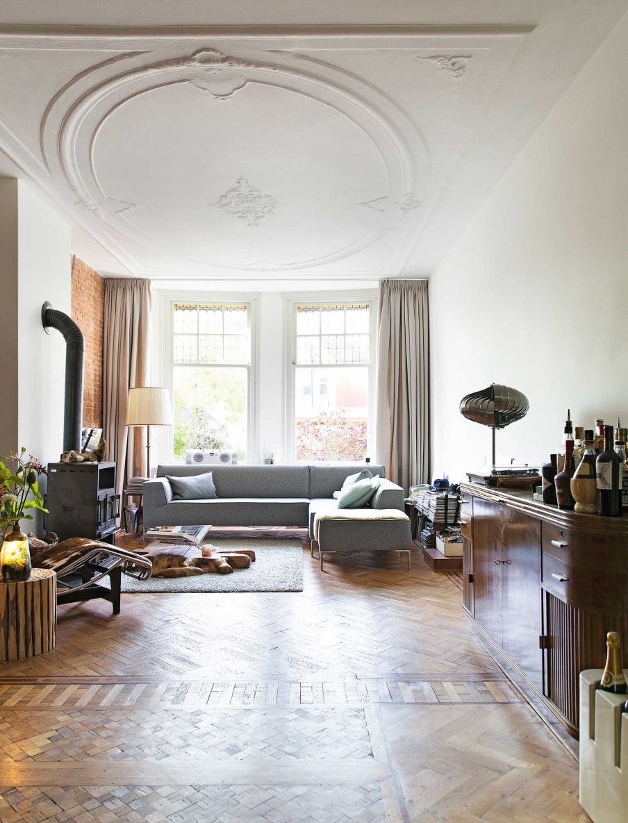 Living room in a historic Dutch home | interior design | Pinterest ...