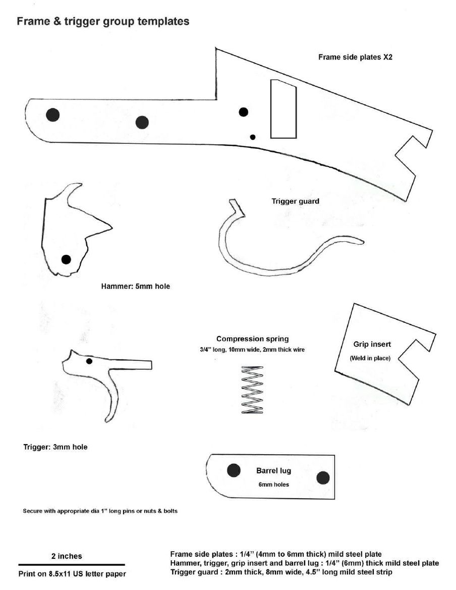 homemade break barrel shotgun plans professor parabellum  [ 904 x 1169 Pixel ]