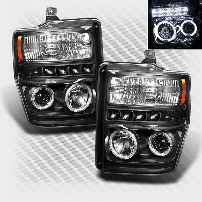 For 0810 F250 F350 F450 Super Duty Halo LED Pro