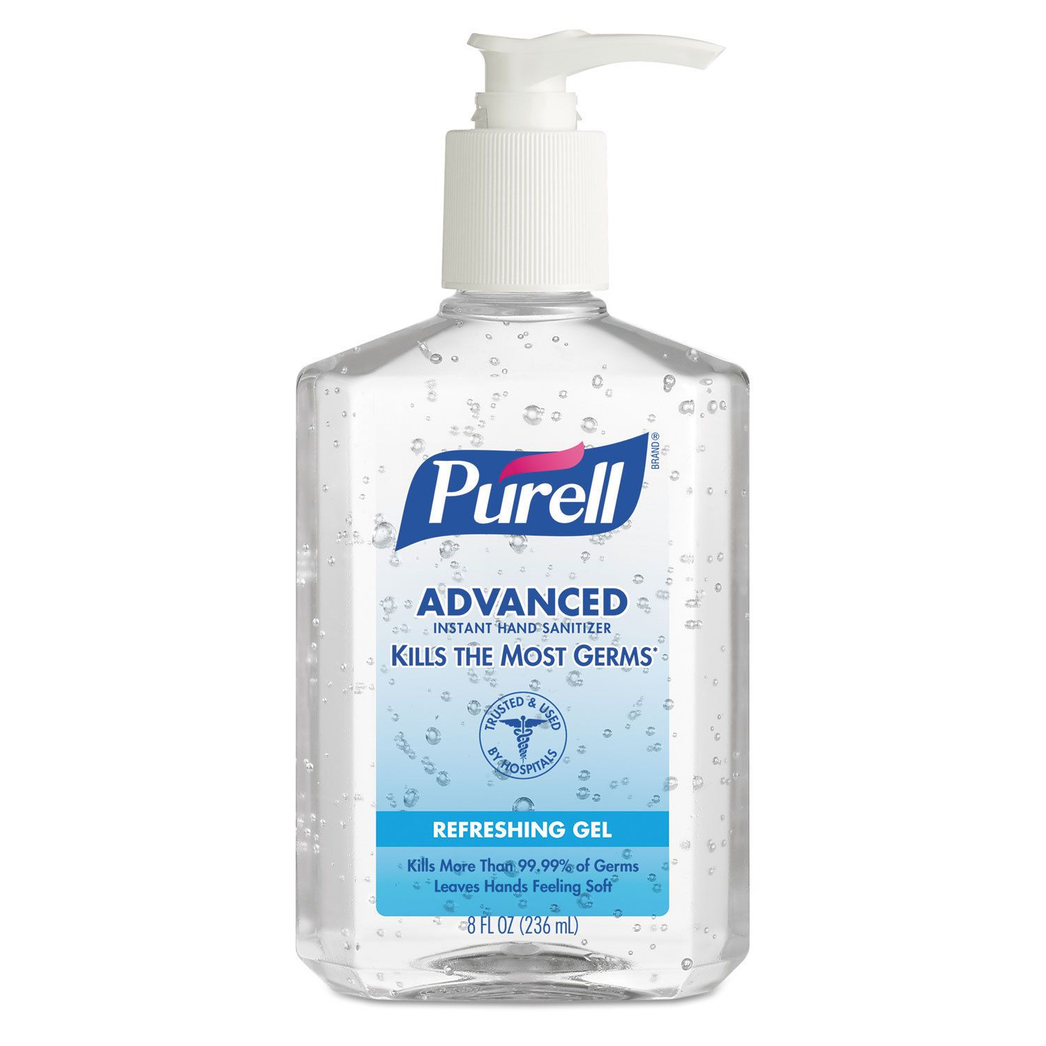 Purell 8oz Instant Hand Sanitizer Bottle Clear In 2019 Hand