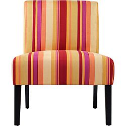 Portfolio Niles Striped Armless Accent Chair.  You are adorable.