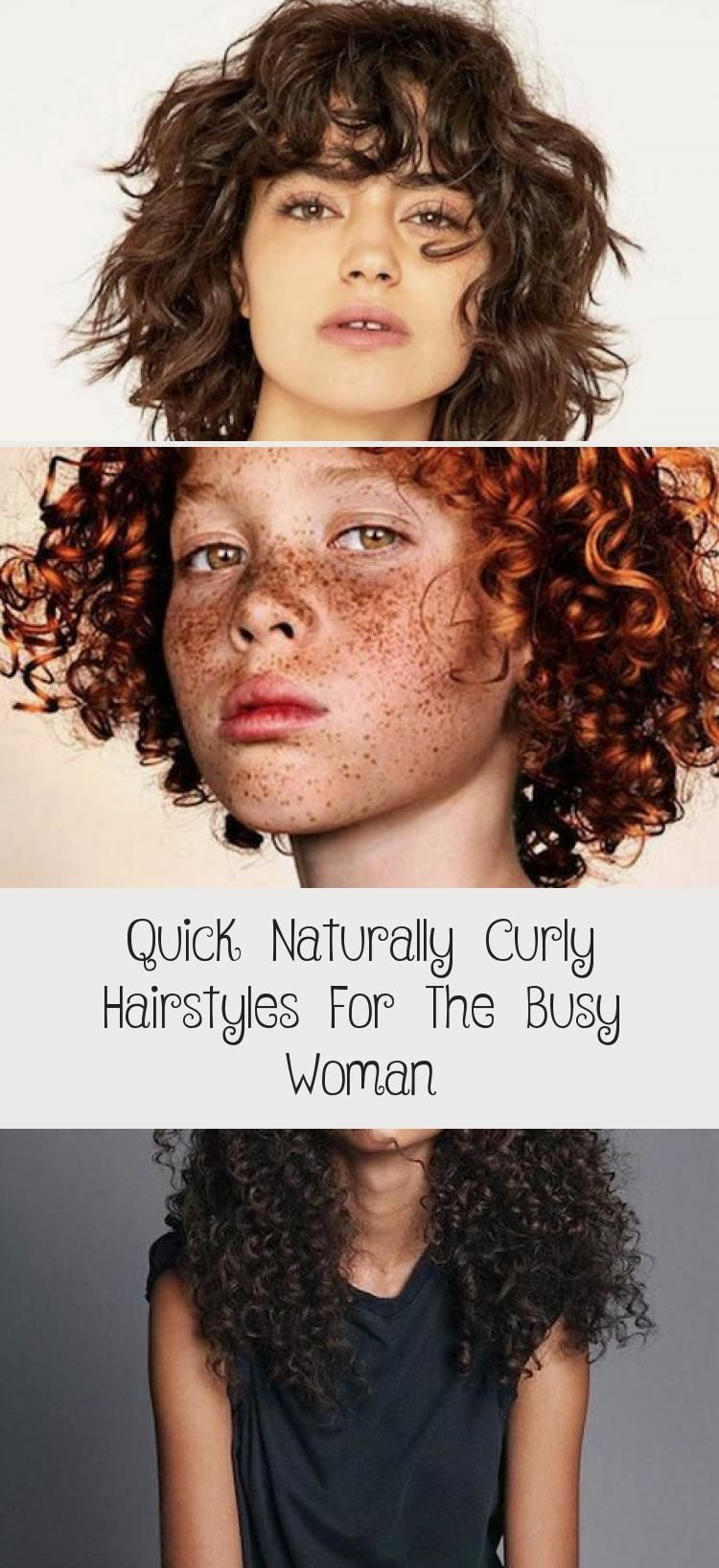 Fast naturally curly hairstyles for the busy woman - best hairstyles - #curly #hairstyles #naturally #woman - #new