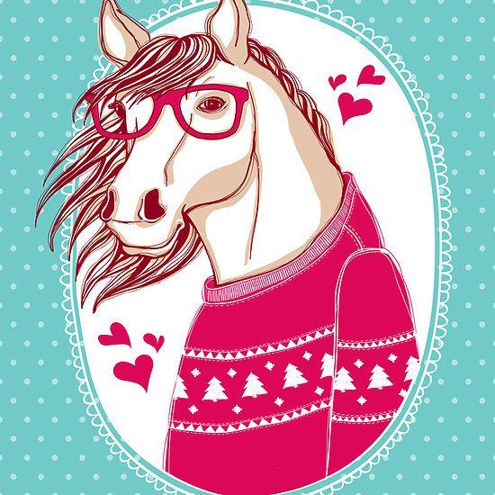 Horse by moryachok on Redbubble