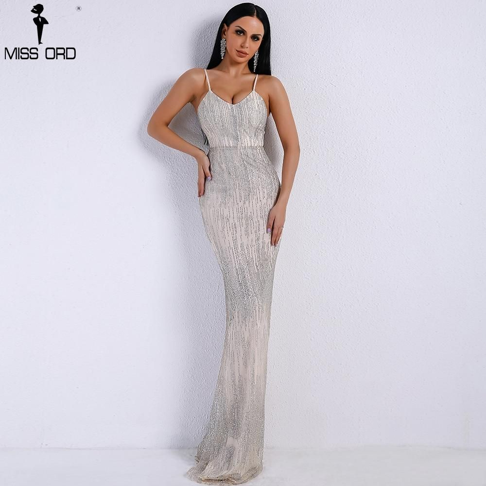 57c7b4f0 SEQUIN DRESS – OrdChic | Prom dress 2019 in 2019 | Silver evening ...
