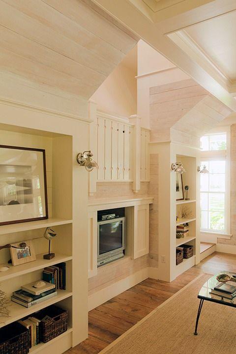 Drywall Free Design Of Living Room Wall In Eric Moseru0027s Coastal Living Idea  House Design