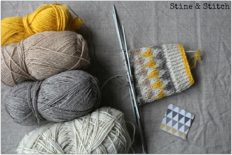 Stine & Stitch: Socken stricken leicht gemacht | Bines | Pinterest ...