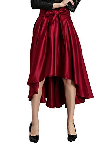 Generic Womens Unregular ALine Skirt Size 10 US *** Click on the image for additional details.(This is an Amazon affiliate link and I receive a commission for the sales)