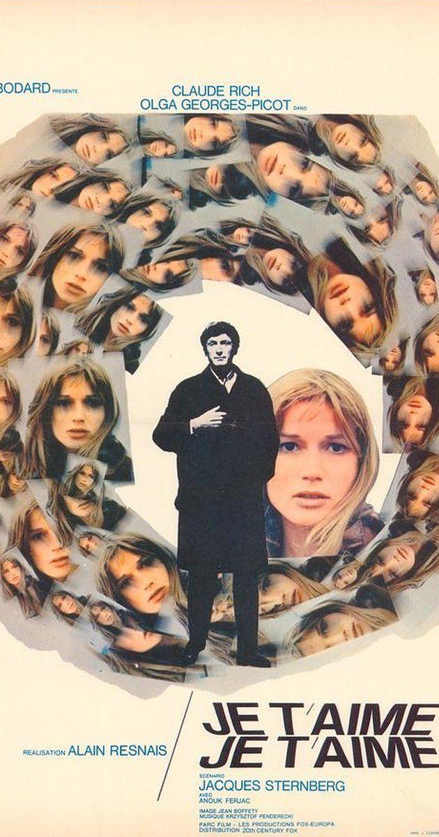 Je t'aime, je t'aime (1968) IMDb Affiche de film, Je t