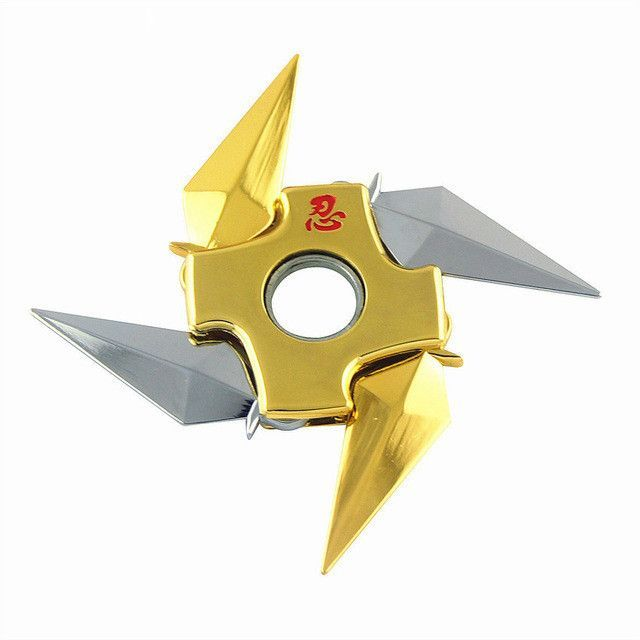 Our latest Naruto Shuriken Rotatable Fid Spinner ninja star