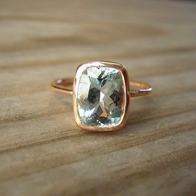 engagement ring love rose gold :)
