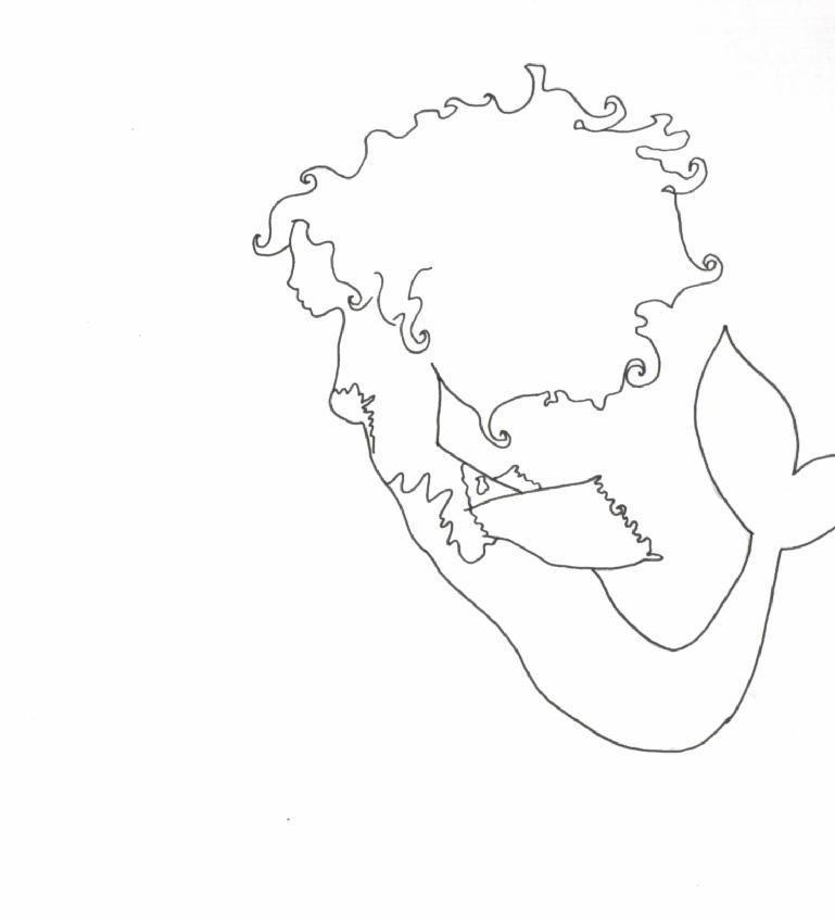mermaid outline template go