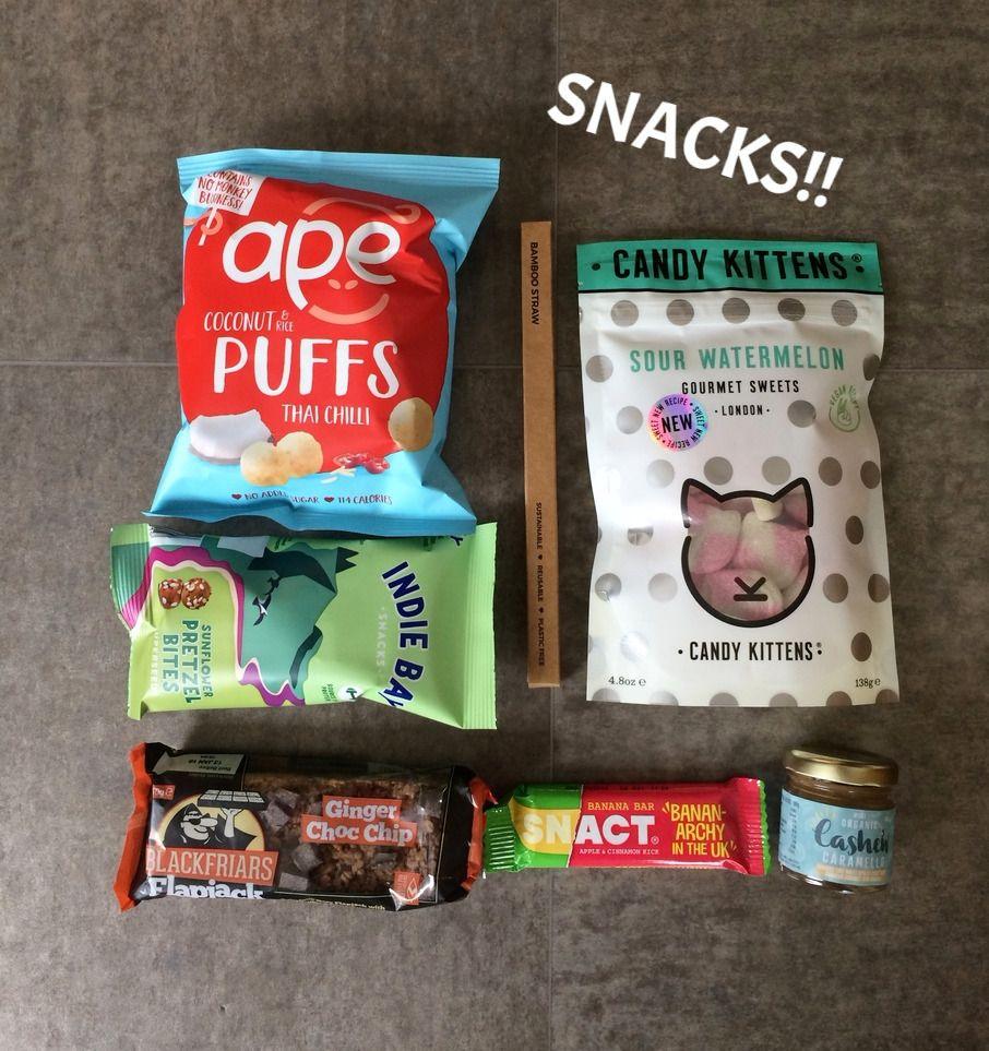 The Vegan Kind Subscription Box Vegan Snacks Vegan