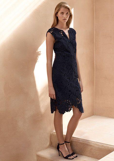 4f3bbf9267 Jigsaw Lace Keyhole Dress