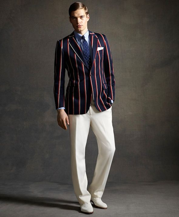 Brooks Brothers Homme Ete 2013 : Collection Gatsby Le