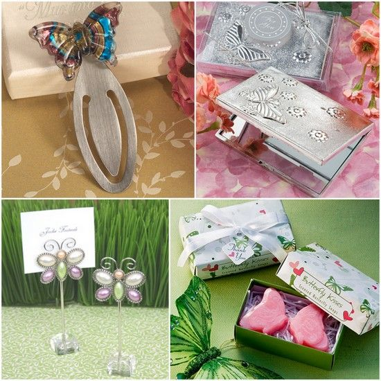 Butterfly Wedding Party Favors from HotRef.com #butterfly #partyfavors