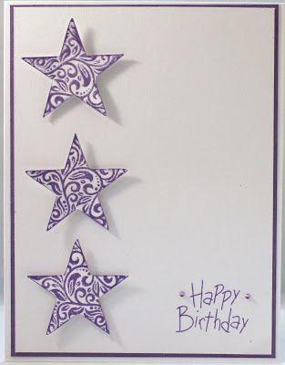 Rocky Mountain Paper Crafts: #CC1015HolidayWishes Birthday Card #ArtPhilosophy #D1407PieceOfCake