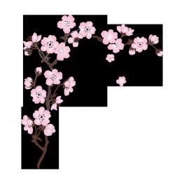 sticker sakura cerisier kwiaty in 2019 tatouage fleur. Black Bedroom Furniture Sets. Home Design Ideas