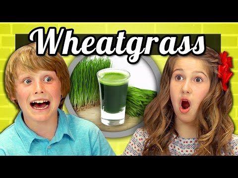 KIDS vs. FOOD - WHEATGRASS SHOTS - http://mystarchefs.com/kids-vs-food-wheatgrass-shots/